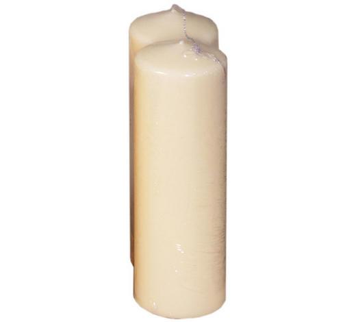 STUMPENKERZE 7/20 cm  - Champagner, Basics (7/20cm) - Steinhart
