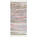FLECKERLTEPPICH  80/150 cm  Multicolor, Weiß   - Multicolor/Weiß, Basics, Textil (80/150cm) - Boxxx