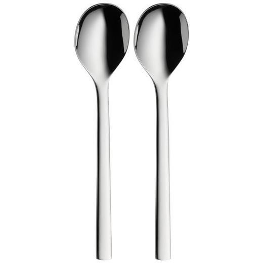 LÖFFELSET - Edelstahlfarben, Basics, Metall (15cm) - WMF
