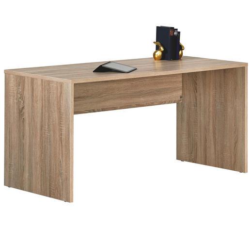 JUGENDSCHREIBTISCH in Holzwerkstoff 145/72/68 cm  - Sonoma Eiche, Design, Holzwerkstoff (145/72/68cm) - Moderano