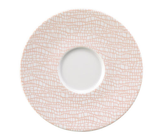 UNTERTASSE - Rosa/Weiß, Design, Keramik (16/2cm) - Seltmann Weiden
