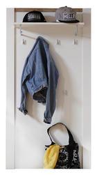 GARDEROBNI PANEL - bijela/boje hrasta, Lifestyle, drvni materijal (80/149/28cm) - Landscape