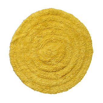 KOPALNIŠKA PREPROGA SALOME - rumena, Konvencionalno, tekstil (60cm) - Boxxx