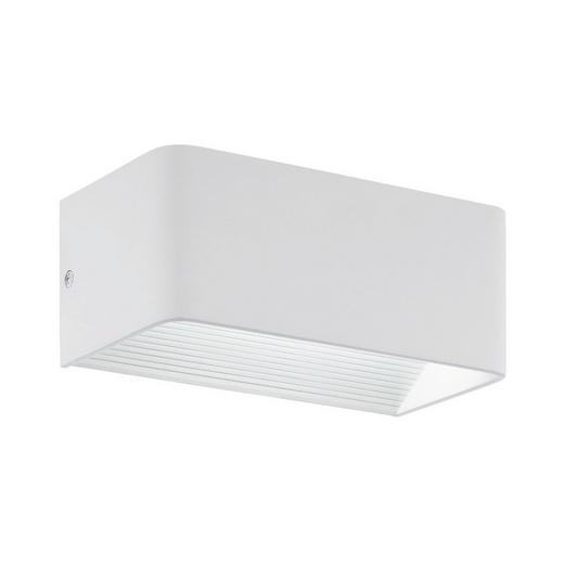 LED-WANDLEUCHTE - Weiß, Design, Metall (20/8cm)