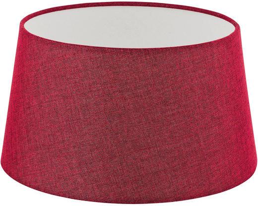 LEUCHTENSCHIRM  Rot  Textil  E27 - Rot, Design, Textil (30/16,5cm) - Marama