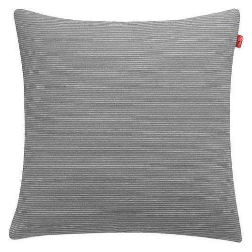 KISSENHÜLLE Dunkelgrau 38/38 cm - Dunkelgrau, Basics, Textil (38/38cm) - Esprit