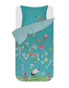 POSTELJNINA - zelena, Konvencionalno, tekstil (140/200cm) - Pip Home