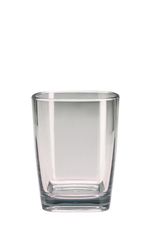 ZAHNPUTZBECHER Glas - Weiß, Basics, Glas (7,3/9cm) - Kleine Wolke