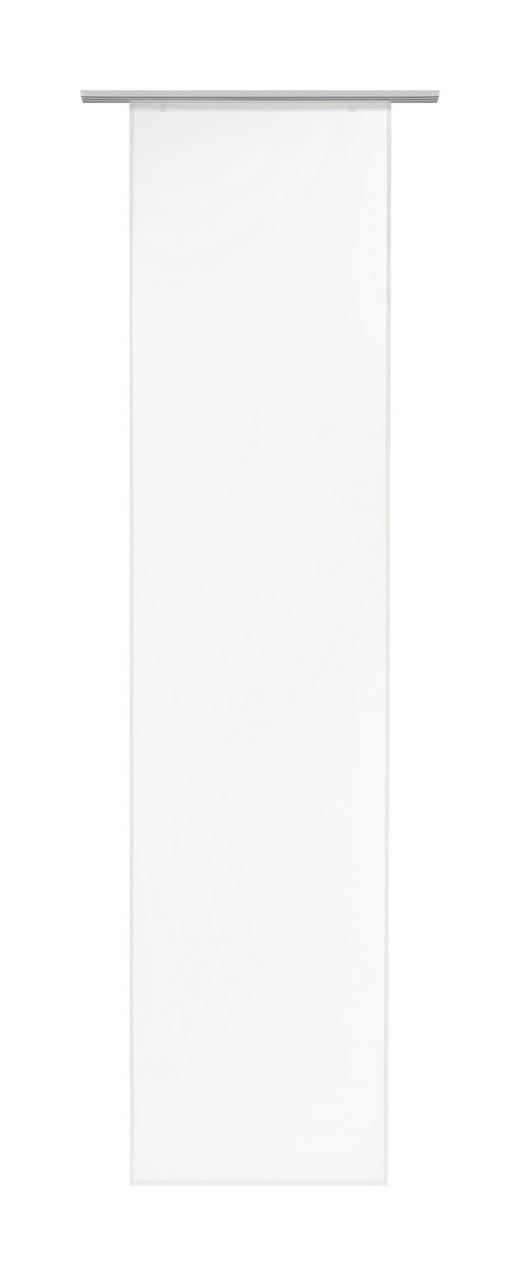 PANELGARDIN - vit, Basics, textil (60/255cm) - BOXXX