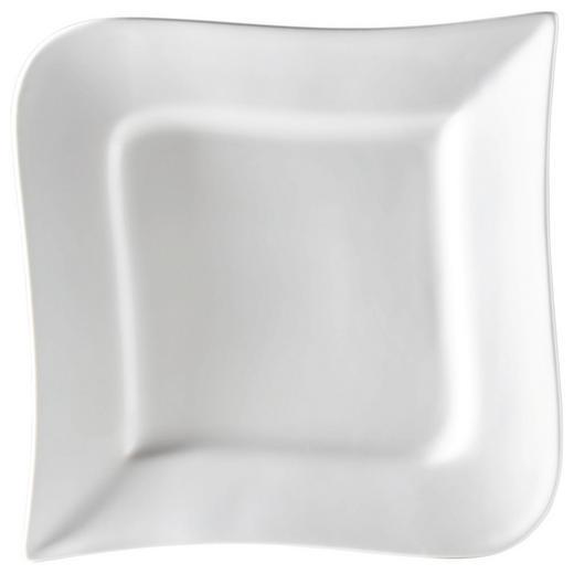 New Bone China  DESSERTTELLER  rechteckig - Weiß, Basics (20cm) - Ritzenhoff Breker