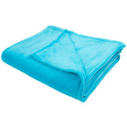 KUSCHELDECKE 150/200 cm - Petrol, Basics, Textil (150/200cm) - Novel