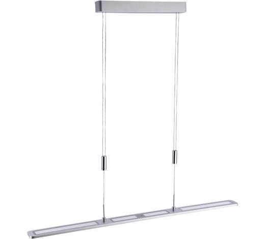 LED-HÄNGELEUCHTE - Alufarben, Design, Metall (100/7/160cm)