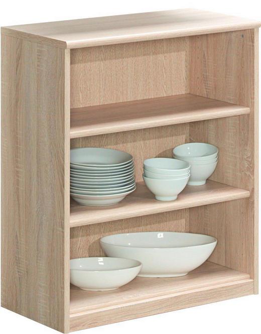 REGAL - boje hrasta, Konvencionalno, drvni materijal (72/84/36cm) - CS SCHMAL