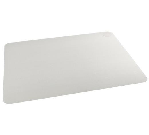BODENSCHUTZMATTE - Klar, Basics, Kunststoff (119/78cm)