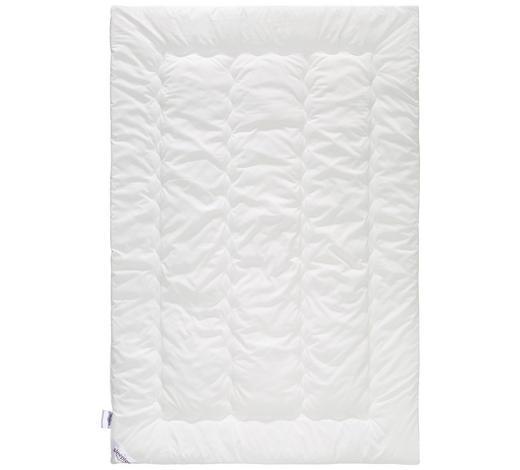 PŘIKRÝVKA, 140/200 cm, polyester - bílá, Basics, textil (140/200cm) - Sleeptex