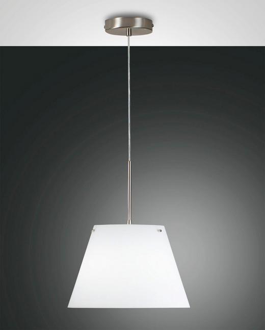 HÄNGELEUCHTE - Weiß, LIFESTYLE, Glas/Metall (30/200cm)