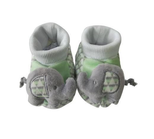 SCHUHE - Hellgrau/Hellgrün, Basics, Kunststoff/Textil - Patinio