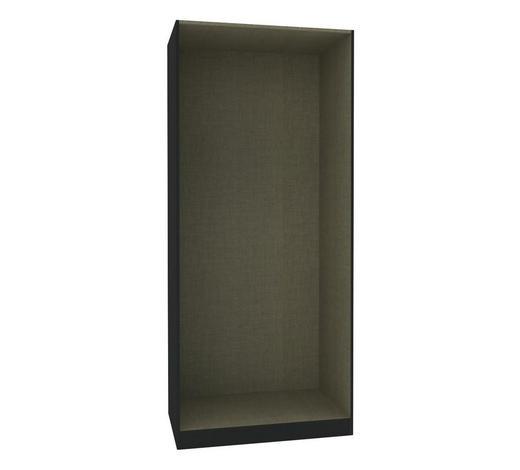 KLEIDERSCHRANKKORPUS - Anthrazit, MODERN, Holzwerkstoff (91,1/210/56,5cm) - Hom`in