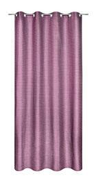 ÖSENSCHAL  halbtransparent   140/245 cm - Brombeere, Textil (140/245cm) - AMBIENTE