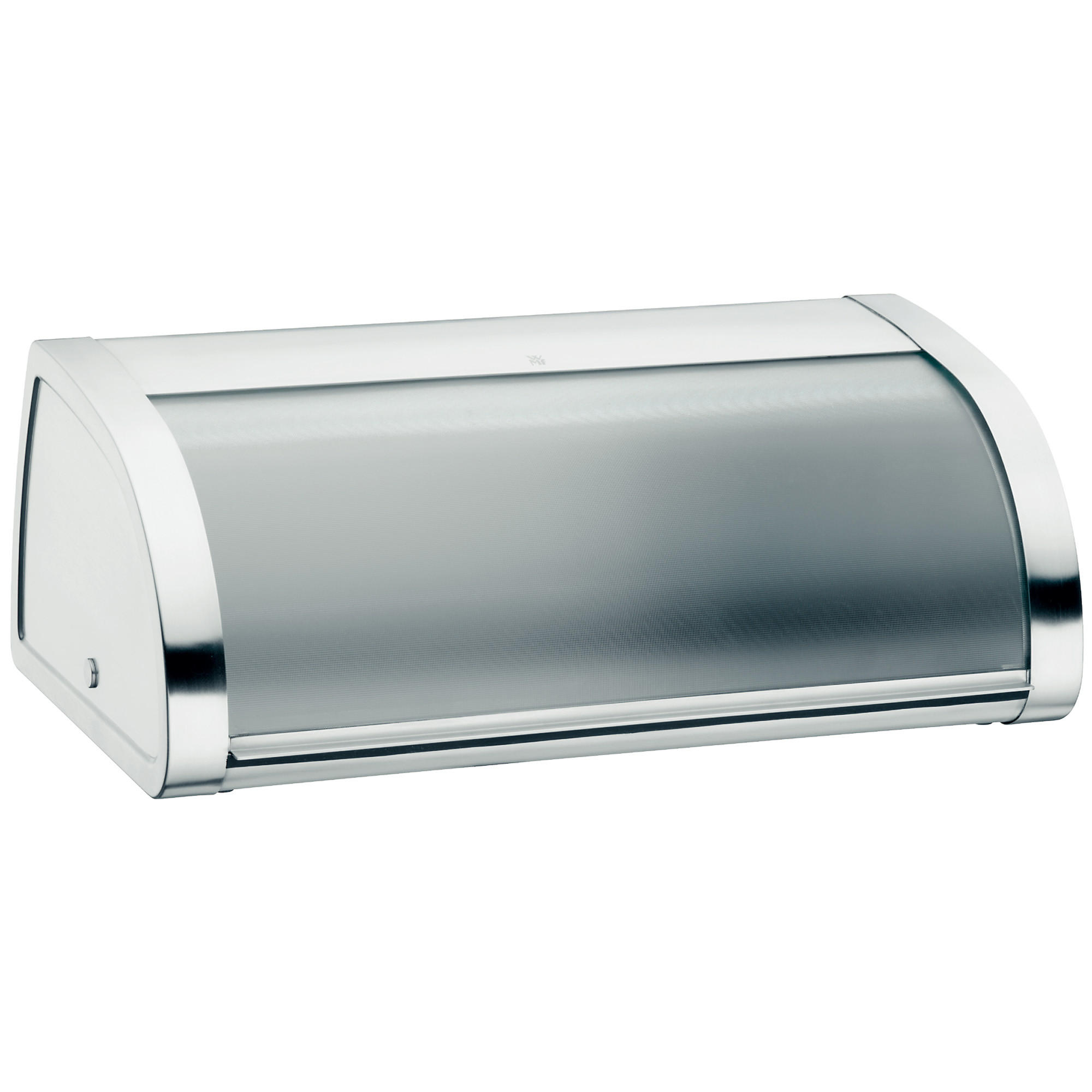 BROTKASTEN - Edelstahlfarben/Transparent, Basics, Glas/Metall (45/28/18cm) - WMF