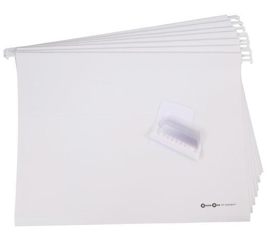 HÄNGEORGANIZER  - Weiß, Basics, Karton (24/31cm)