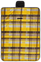 PICKNICKDECKE 130/170 cm - Gelb, Textil (130/170cm)