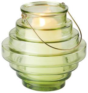 LYKTA - grön, Design, metall/glas (23/22,5cm) - Ambia Home