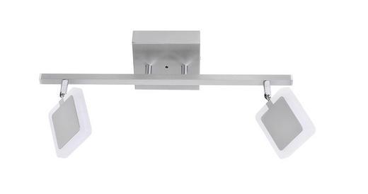 LED-STRAHLER - Nickelfarben, Design, Metall (22/48cm)
