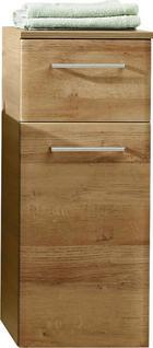DONJI ELEMENT - boje hrasta/boje kroma, Konvencionalno, staklo/drvni materijal (30/72/33cm) - Xora