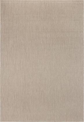 FLATVÄVD MATTA - mullvadsfärgad/gråbrun, Klassisk, textil (60/110cm) - Boxxx