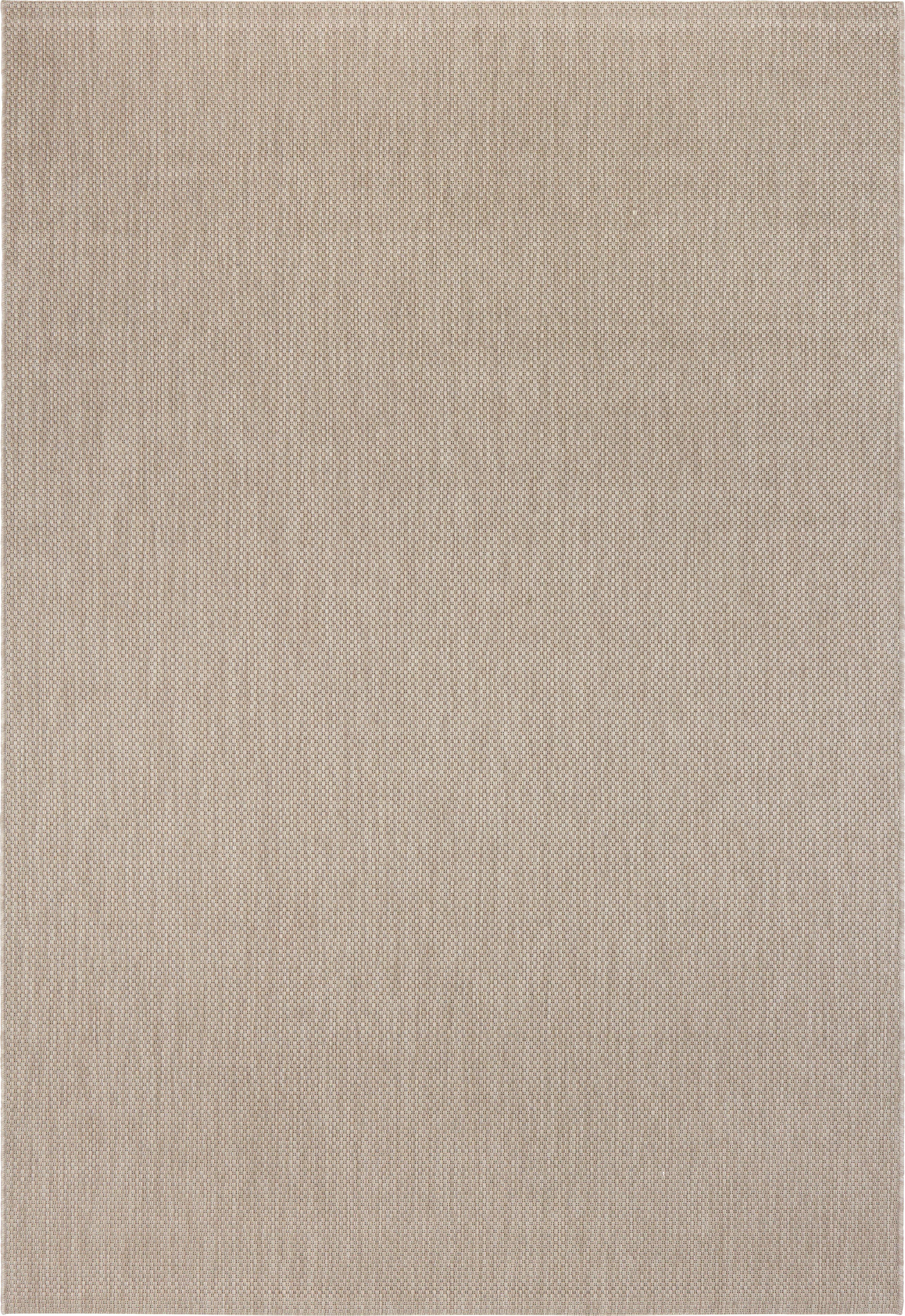 FLATVÄVD MATTA - mullvadsfärgad/gråbrun, Klassisk, textil (160/230cm) - Boxxx