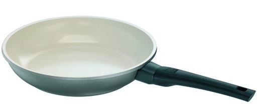 BRATPFANNE 28 cm Keramikbeschichtung - Anthrazit/Beige, Basics, Kunststoff/Metall (28cm) - Rohe
