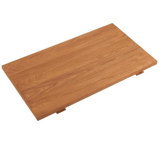 ANSTECKPLATTENSET - Eichefarben, KONVENTIONELL, Holz (50/3/90cm) - Carryhome