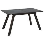ESSTISCH rechteckig Grau  - Grau, Design, Glas/Metall (140(180)/80/76cm) - Carryhome
