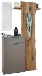GARDEROBE Eichefarben, Fango - Fango/Eichefarben, Design, Holz (113/197/36cm) - DIETER KNOLL
