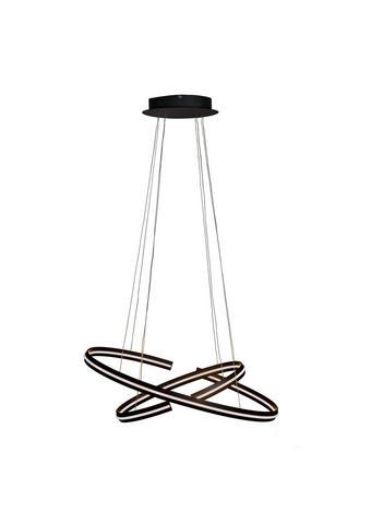 LED-HÄNGELEUCHTE - Schwarz, Design, Kunststoff/Metall (80/40/160cm) - Ambiente