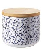 POSUDA ZA ZALIHE - bijela/smeđa, Lifestyle, drvo/keramika (10/8cm) - Landscape