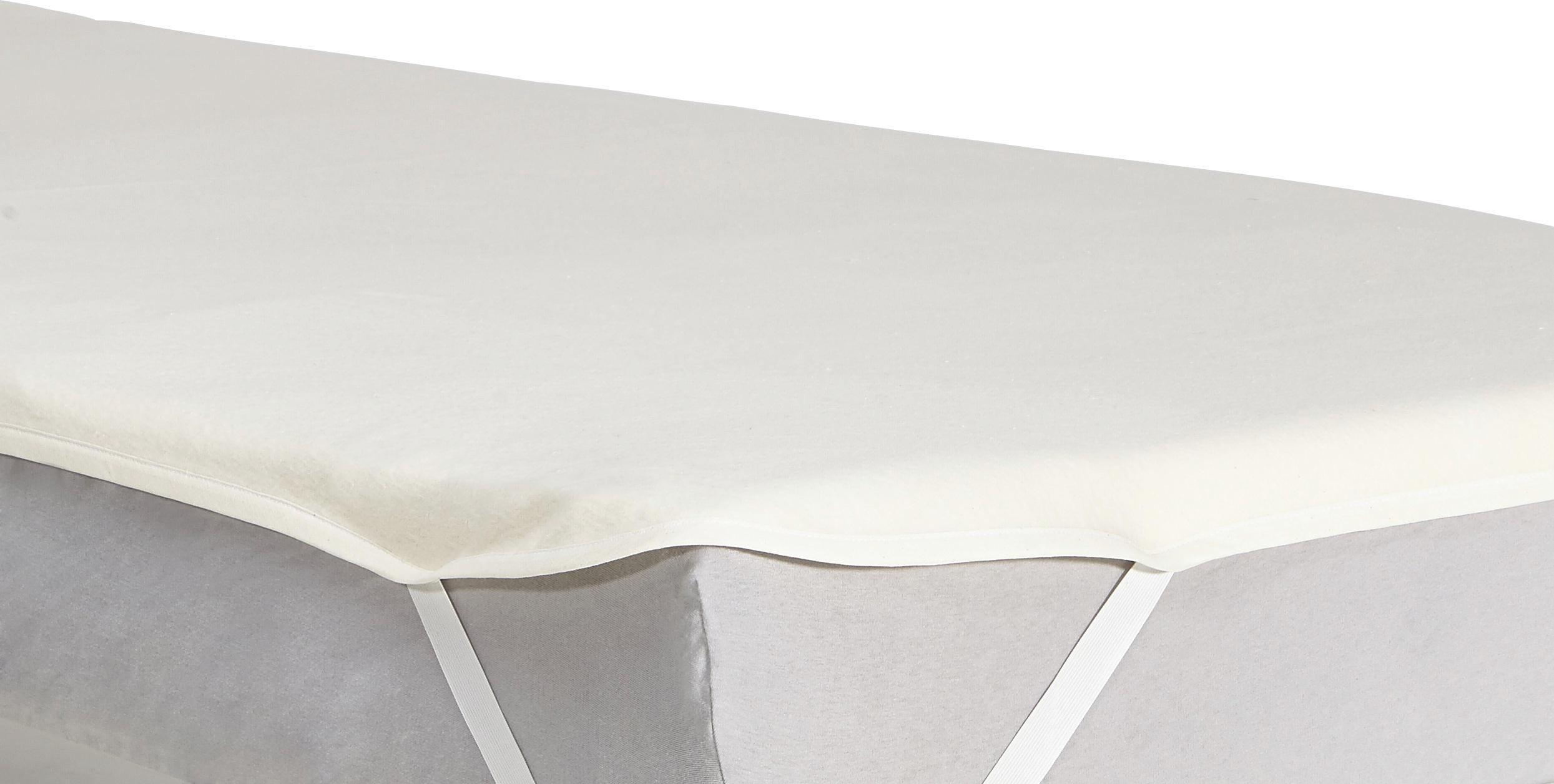 MATRATZENSCHONER  120/200 cm - Weiß, Textil (120/200cm) - SLEEPTEX