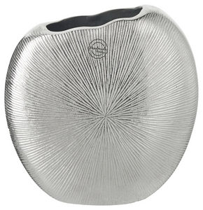 VAS - silver, Design, metall (23/9/22cm) - Ambia Home