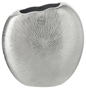 VAS - silver, Design, metall (23/9/22cm) - Ambia Home