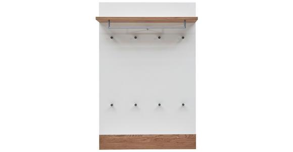 GARDEROBENPANEEL 92/140/28 cm  - Eichefarben/Weiß, Design, Holz/Holzwerkstoff (92/140/28cm) - Dieter Knoll