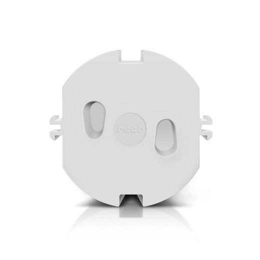 STECKDOSENVERSCHLUSS - Weiß, Basics, Kunststoff - Reer