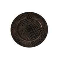 DEKOTELLER - Kupferfarben, Basics, Kunststoff (33cm) - Ambia Home