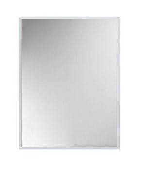 VÄGGSPEGEL - alufärgad/silver, Design, metall/glas (31/41cm)