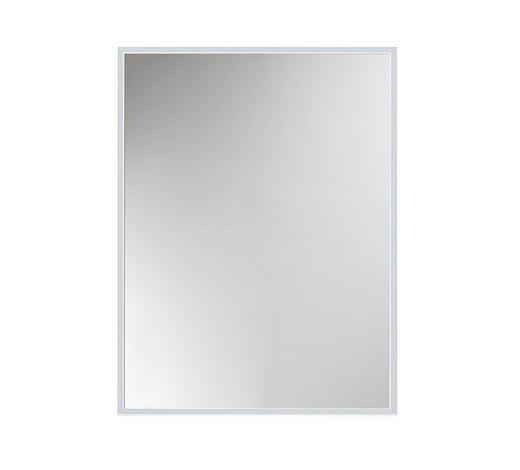 WANDSPIEGEL - Silberfarben/Alufarben, Design, Glas/Metall (31/41cm)