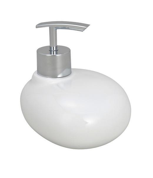 SEIFENSPENDER - Weiß, Kunststoff (12.5/9.5/10.7cm)