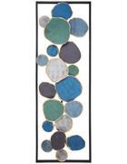 STENSKA DEKORACIJA - večbarvno, Basics, kovina (31/91/4cm) - Ambia Home