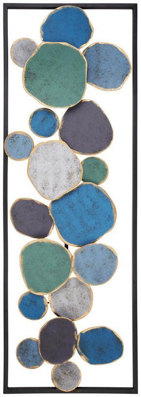 VÄGGDEKORATION - multicolor, Trend, metall (31/91/4cm) - Ambia Home