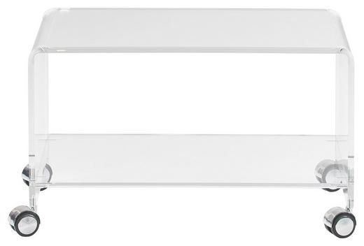 TV-ELEMENT Klar - Klar, Design, Kunststoff (63/38/38cm)