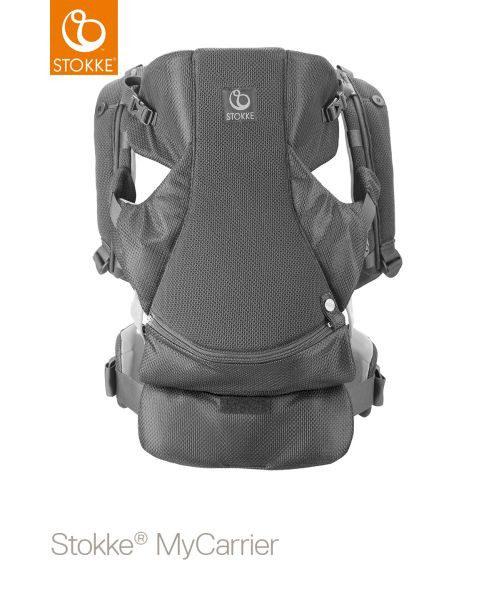 MyCarrier 3in1 front - grå, Basics, ytterligare naturmaterial (40/35/10cm) - Stokke